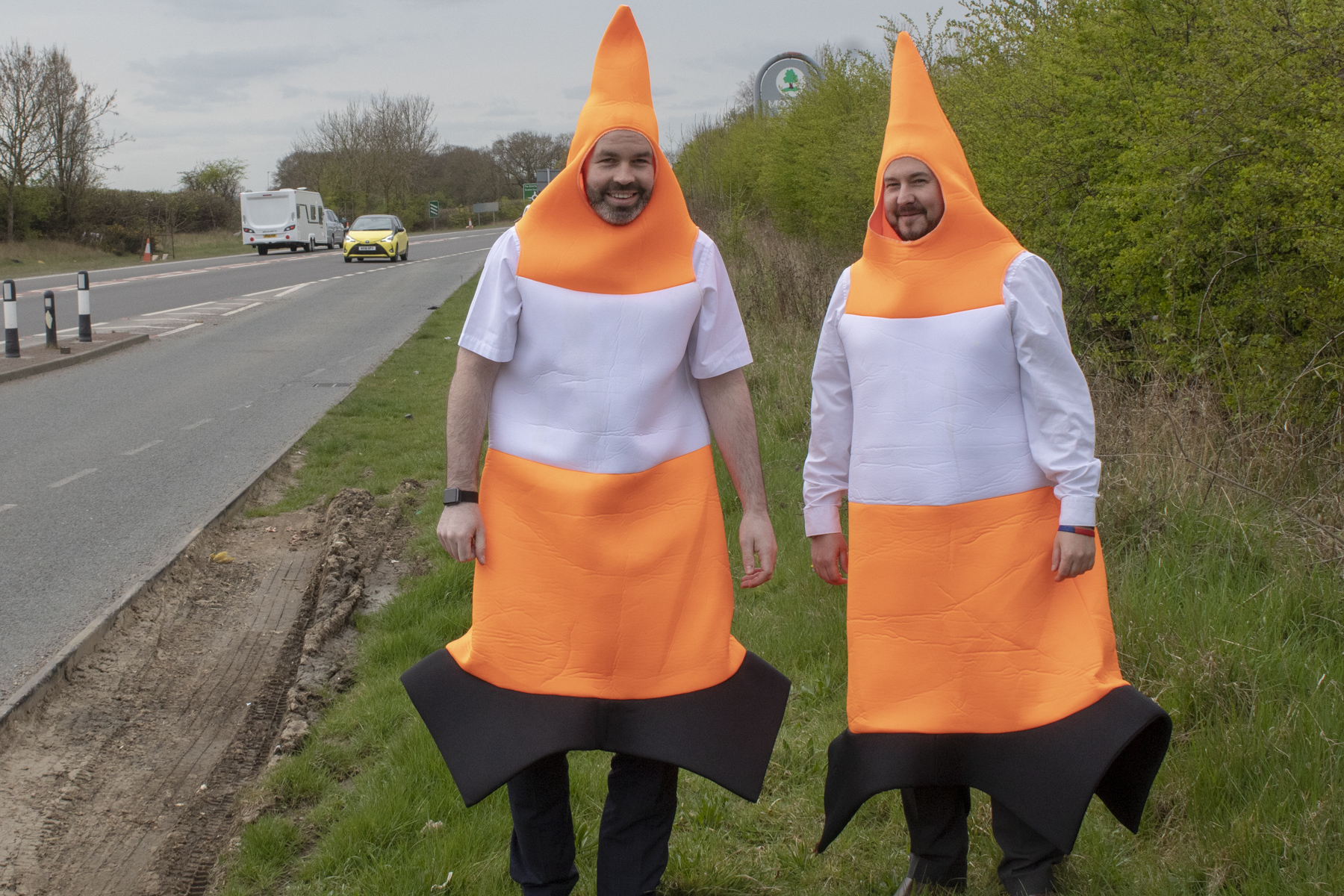 Cone you believe it? Darlington workmates to don fancy dress for International Walk to Work Day