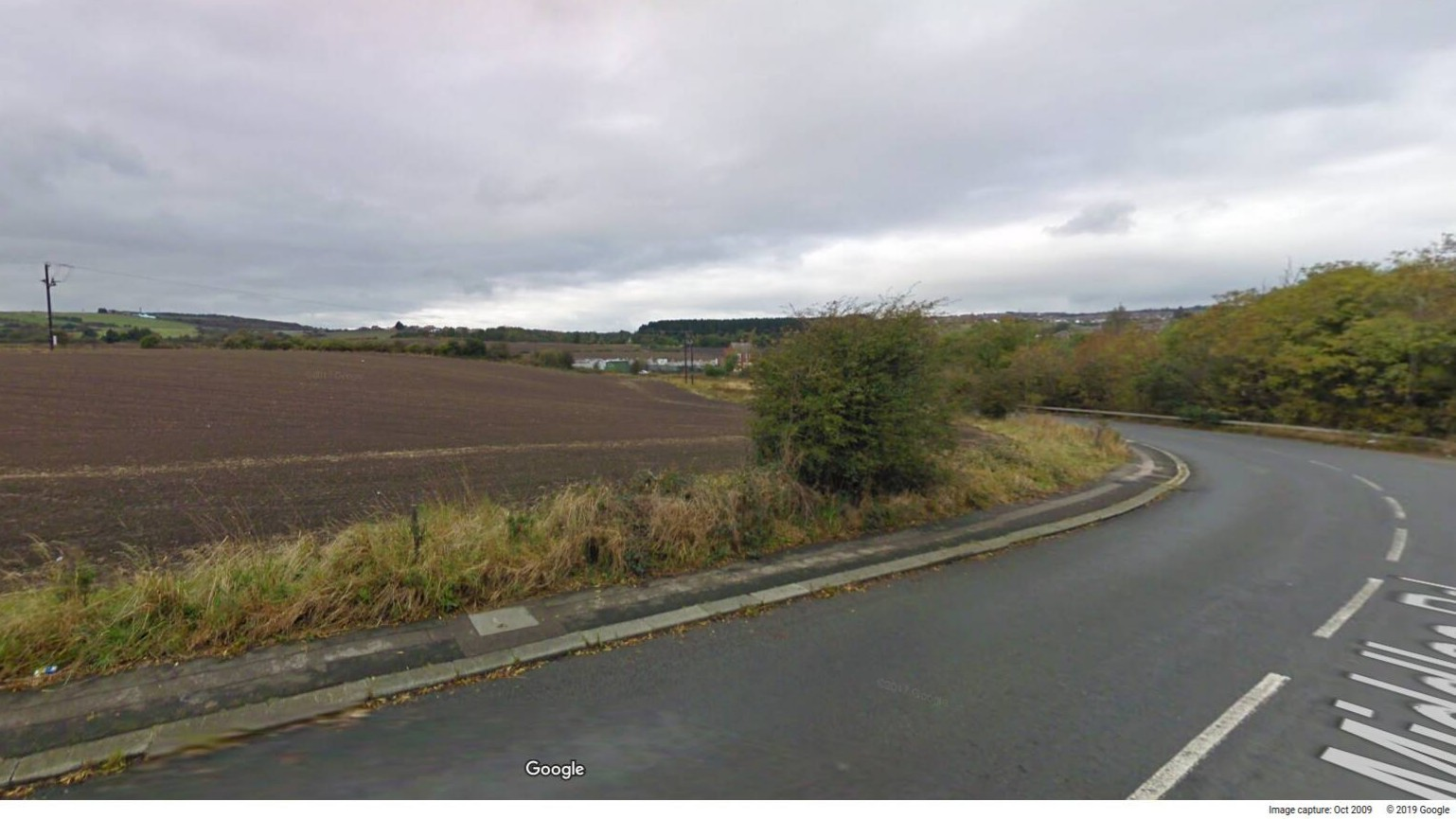The application to build 290 houses in Hustledown Road were refused