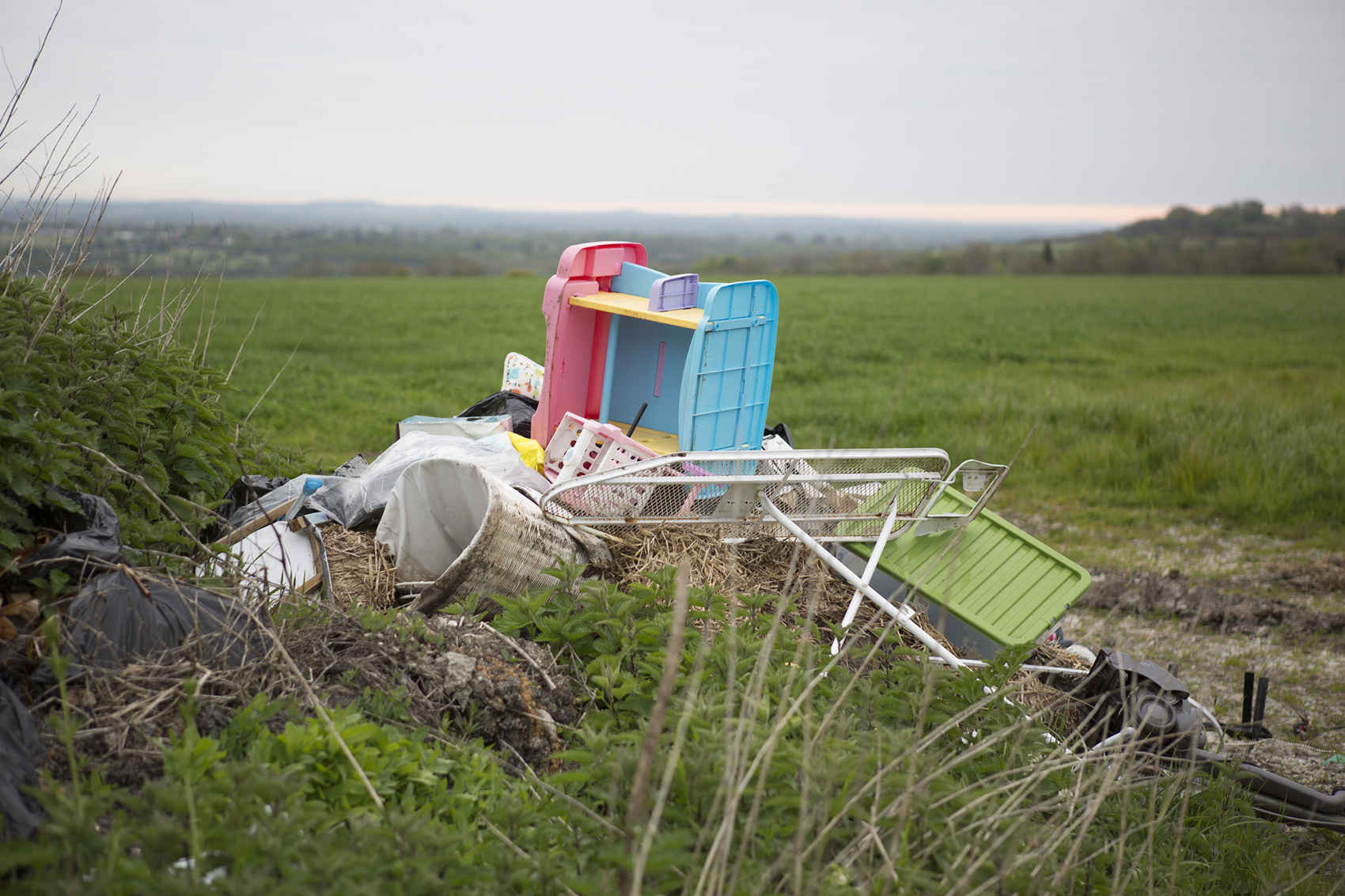RISING STATS: The North-East has seen a huge increase in the number of fly-tipping incidences