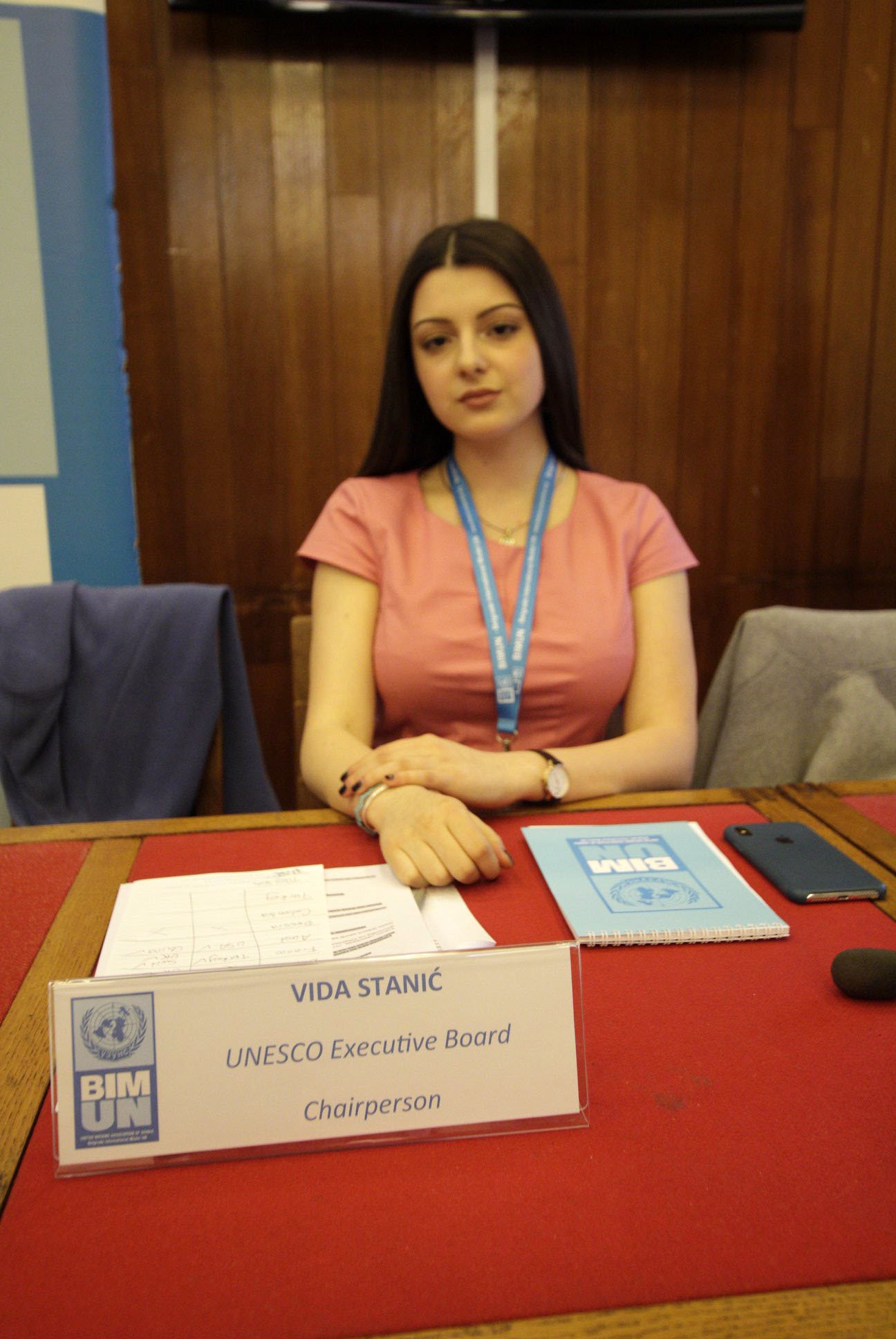 DURHAM School pupil and scholar, Vida Stanic has returned from a United Nations (UN) conference, where she took her place as the youngest ever president of the Unesco board