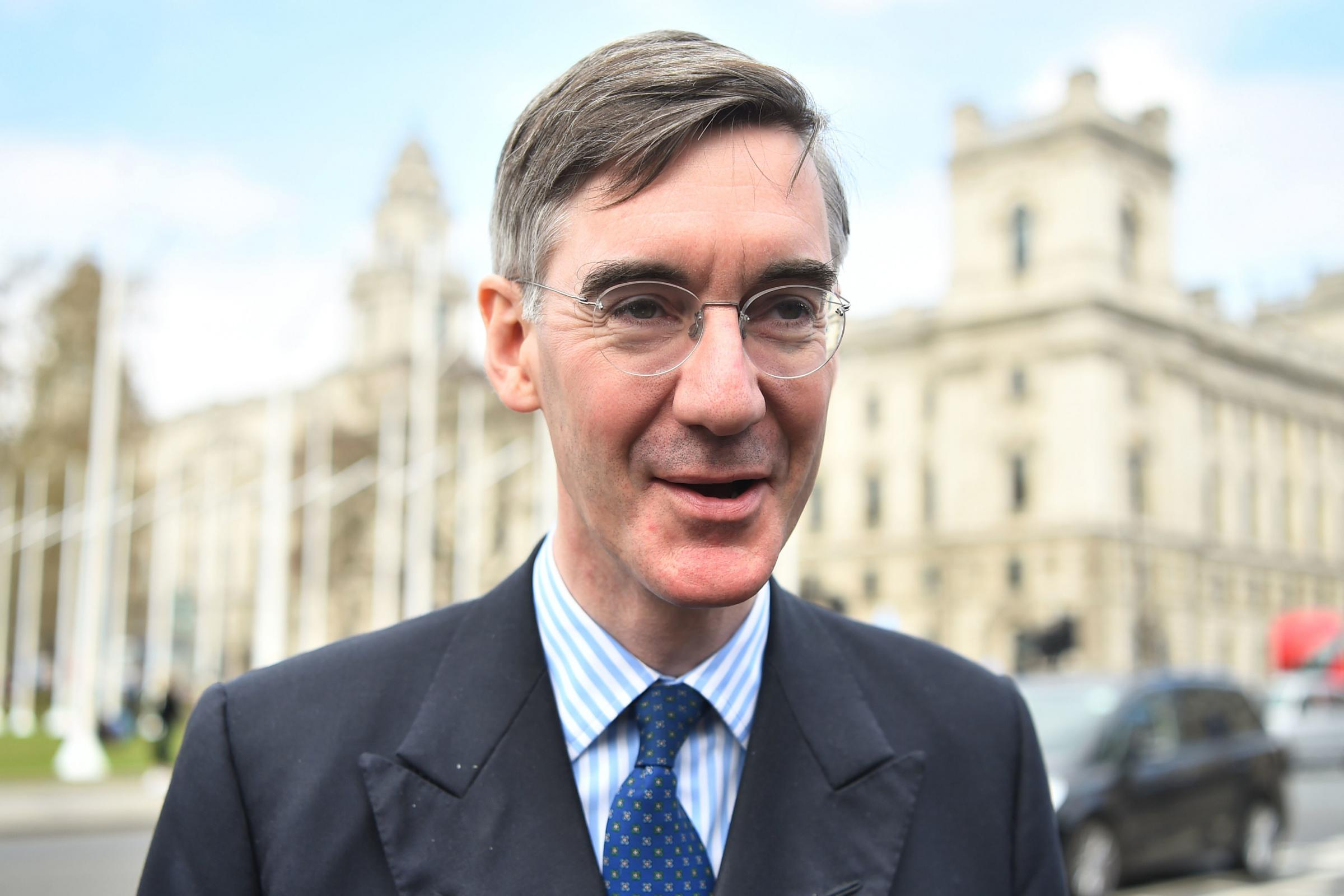 Eurosceptic Conservative MP Jacob Rees-Mogg in Westminster, London. Picture: Kirsty O'Connor/PA Wire