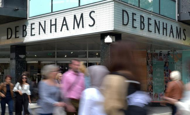 Debenhams goes into administration - move will trigger store