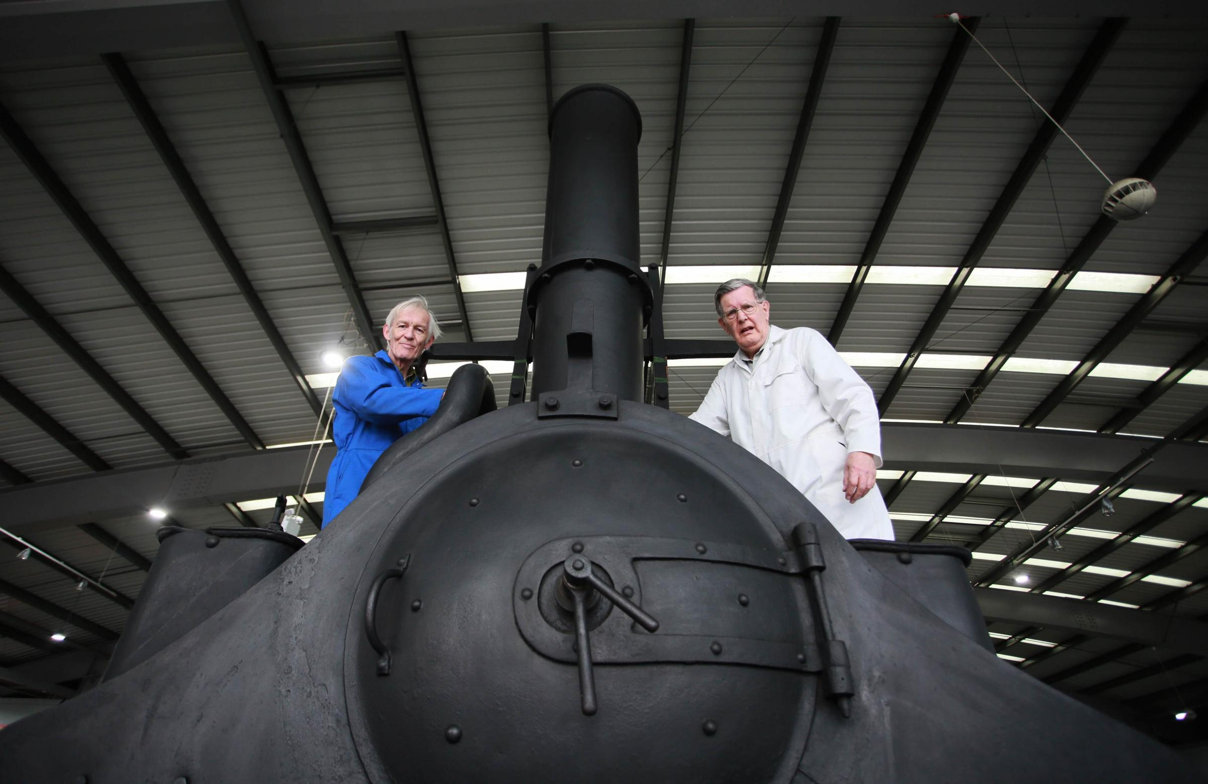 Mystery locomotive arrives at Locomotion in Shildon for investigation