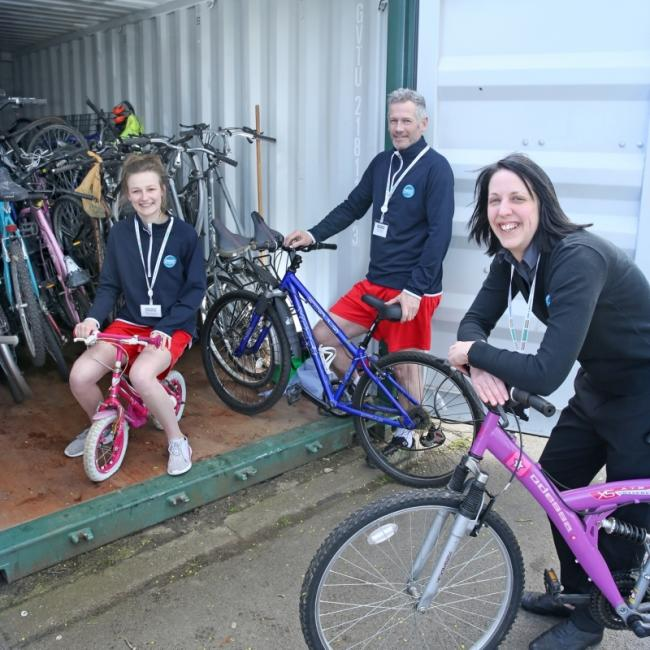 BIYCLE DONATIONS: Dozens of bikes were donated to people who need them the mostPicture: HAMBLETON DISTRICT COUNCIL