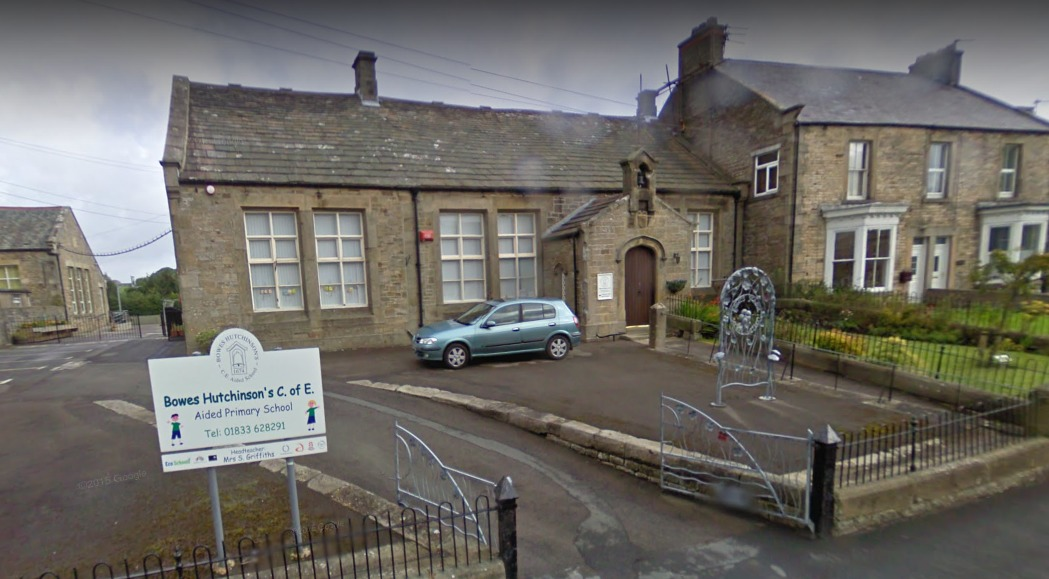 OUTSTANDING OFSTED: Ofsted have given Bowes Hutchinson CofE Primary School an Outstanding Ofsted report Picture: GOOGLE