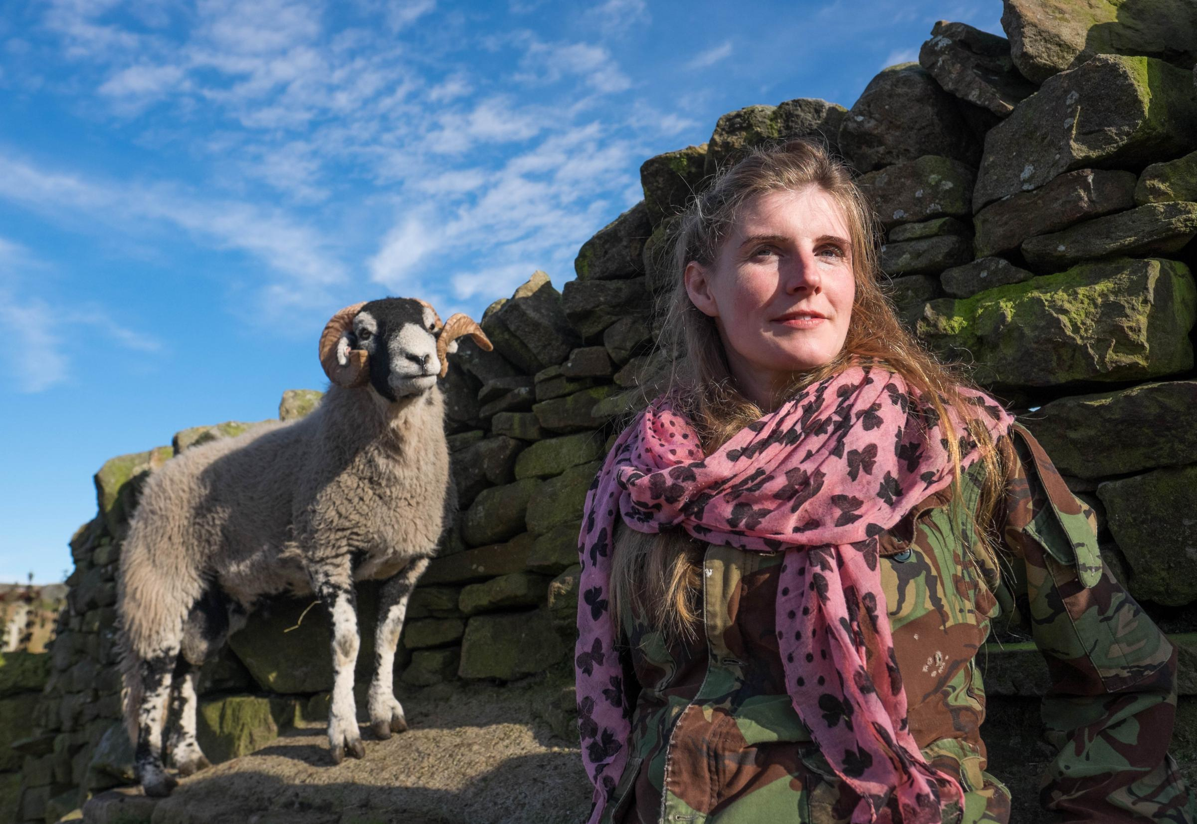 Yorkshire Shepherdess Amanda Owen will be in Darlington to sign copies of her new book. Picture: IAN FORSYTH
