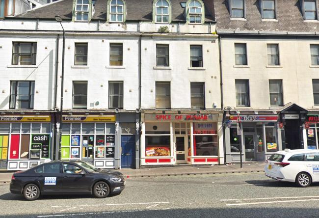 FORCE DECISION: A disciplinary hearing heard PC Katie Barratt used derogatory terms about staff in Newcastle takeaway, Spice of Punjab. Picture: GOOGLE