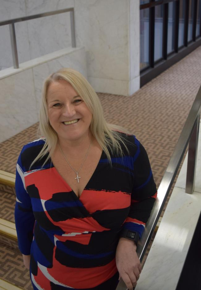 PLEDGE: Suzanne Joyner, Darlington Borough Council's new director of children and adult's services