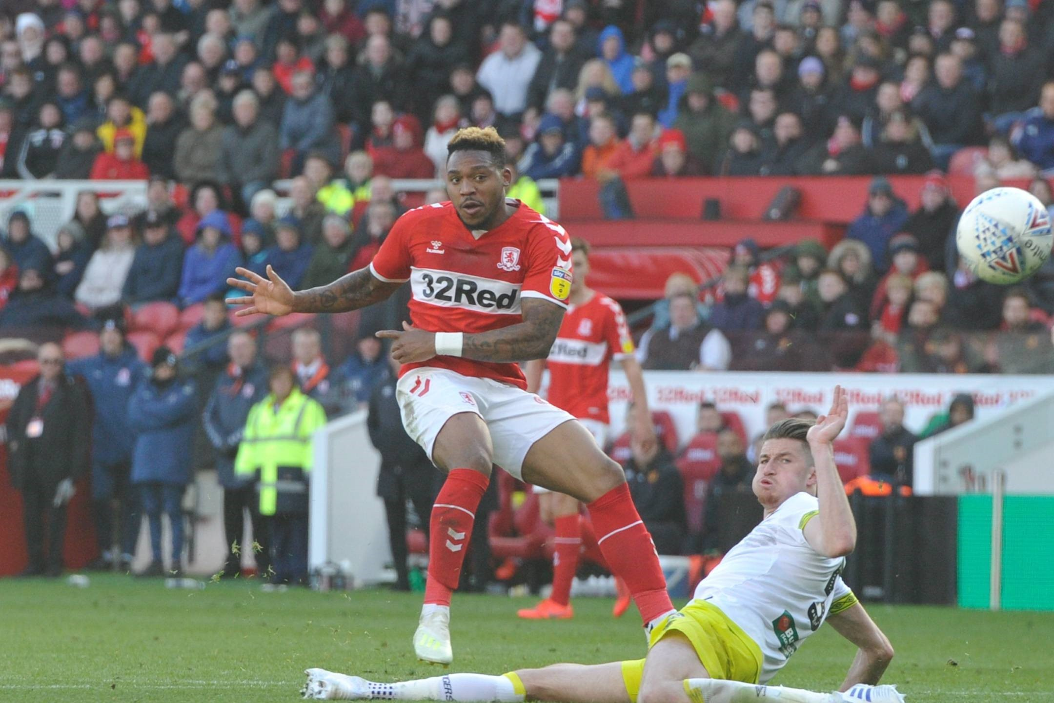 Play-off hopes still alive after Boro beat nerves