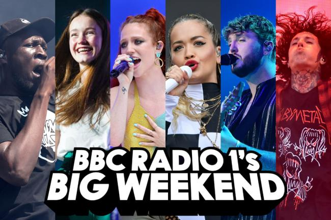 BBC Radio 1's Big Weekend will showcase huge UK and international artists in Middlesbrough's Stewart Park