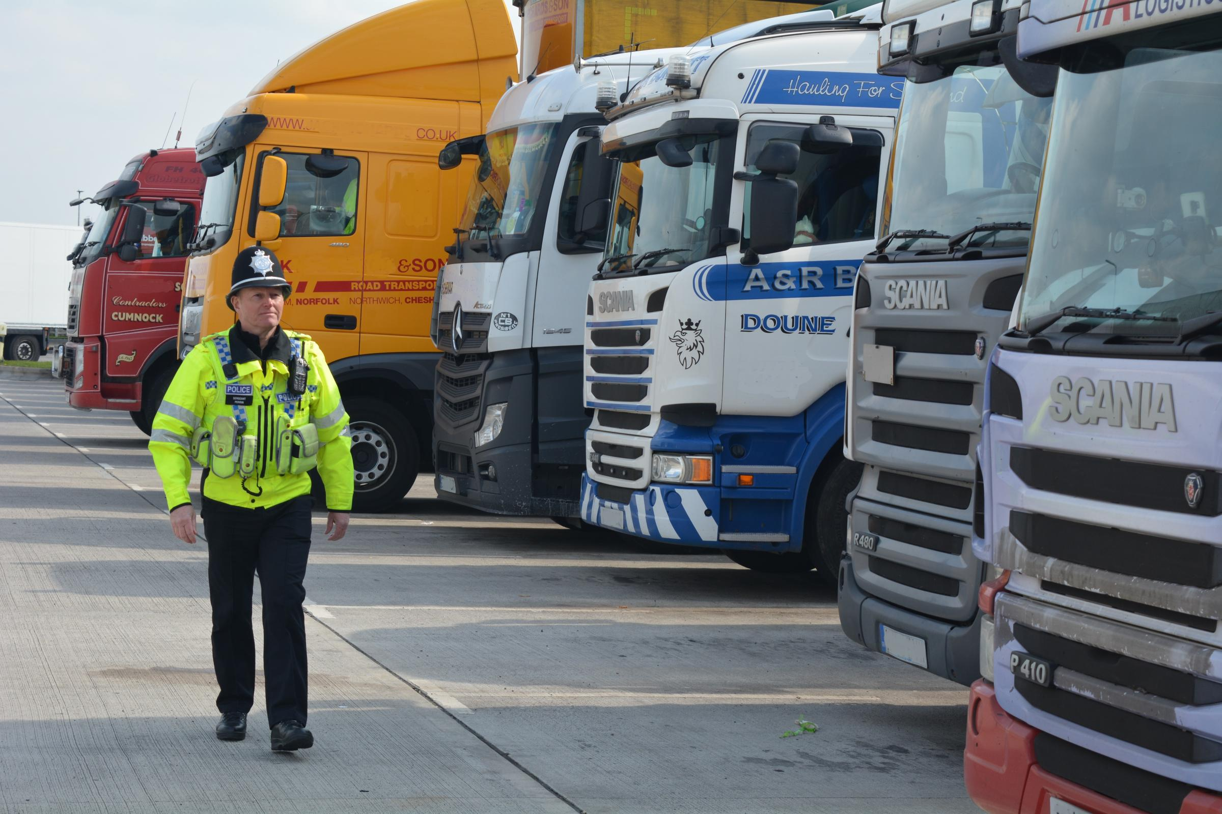 OP CARGO: Police campaign to fight lorry crime