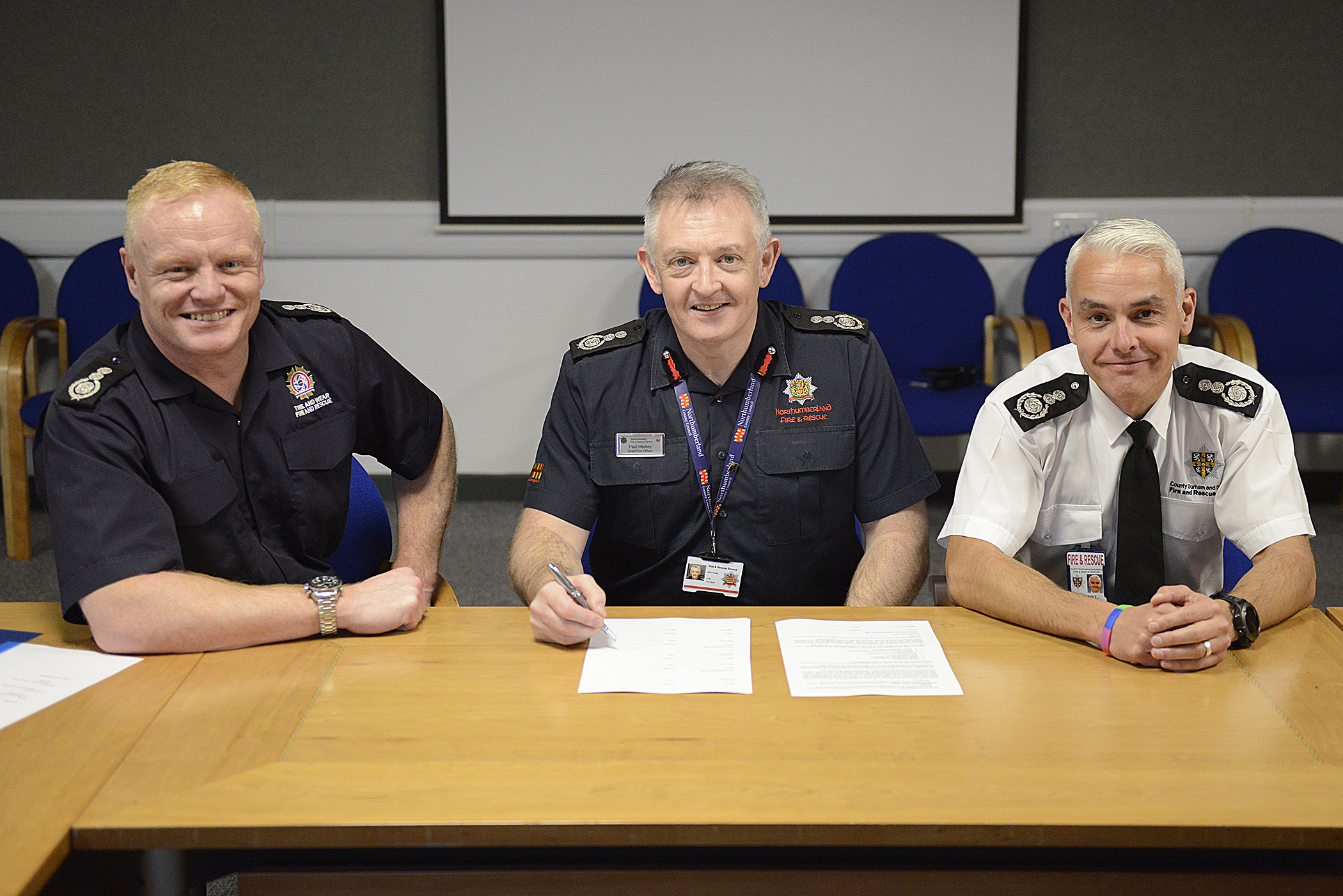 COLLABORATION AGREEMENT: CDDFRS CFO Stuart Errington