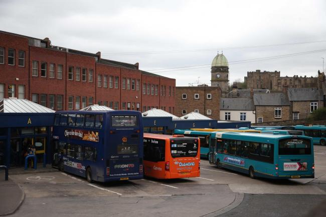 The redevelopment of the bus station in North Road, Durham, is one of the projects in the travel plan for the North-East