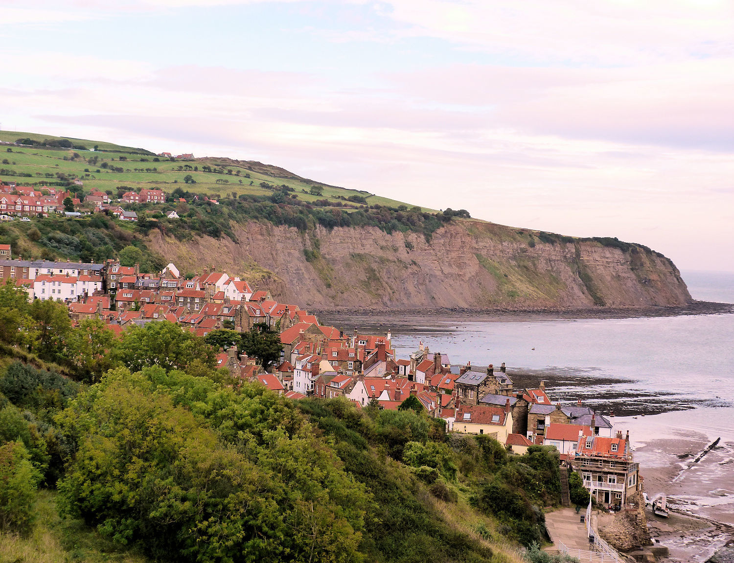 Robin Hood's Bay from Cleveland Way