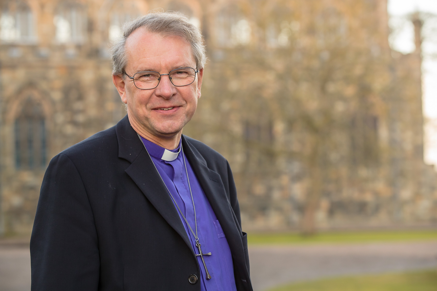 EASTER MESSAGE: The Bishop of Durham, the Right Reverend Paul Butler Picture: Keith Blundy