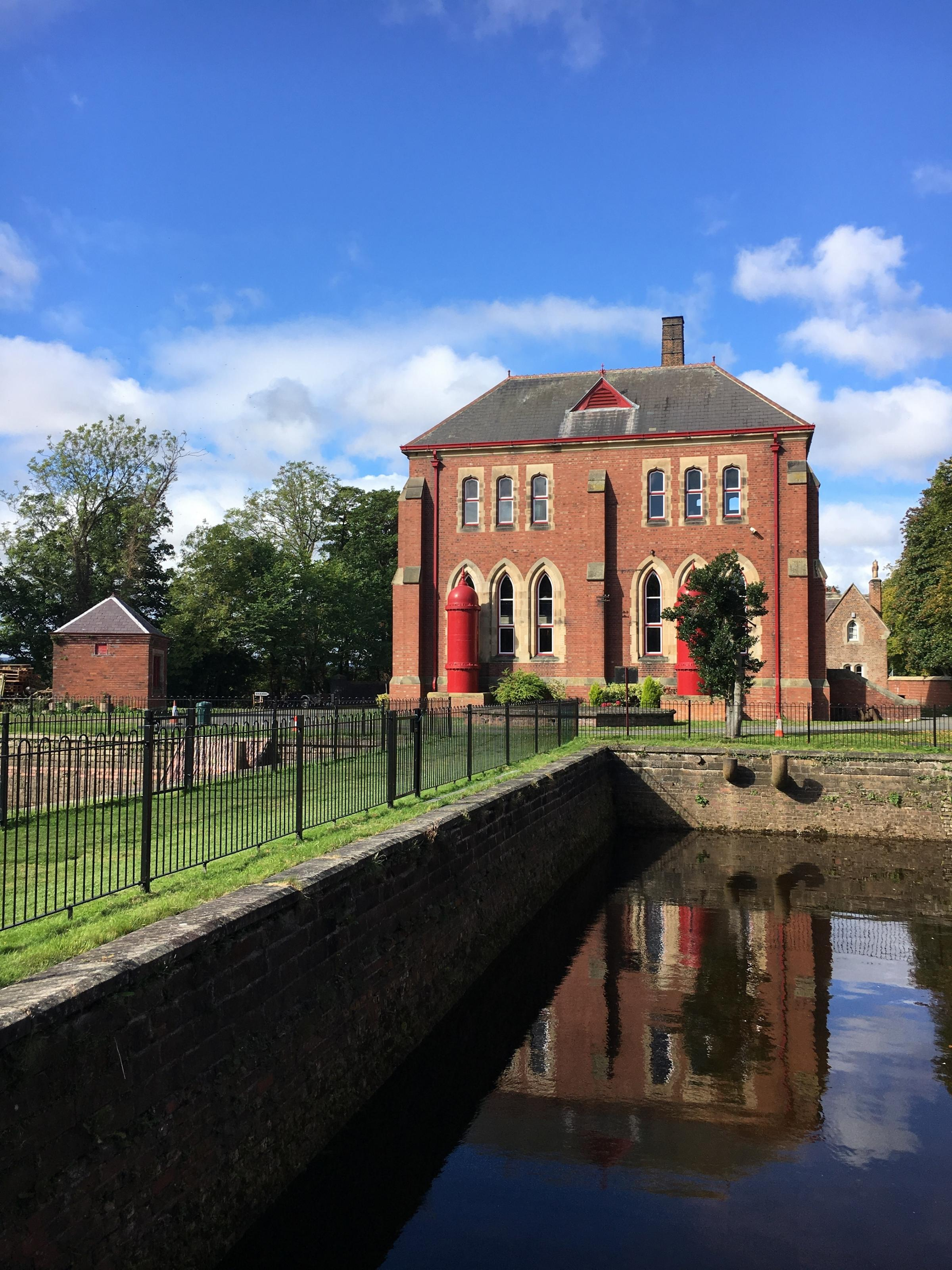 The Tees Cottage Pumping Station in Darlington. Picture: NORTHUMBRIAN WATER