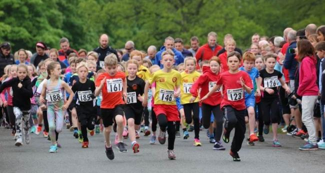 RACES: Youngsters enjoy the annual Raby Races Picture: KAREN NEWTON.