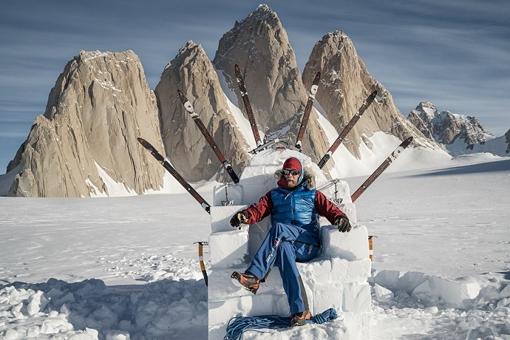 ICE ADVENTURE: Leo Houlding will be one of the speakers at Durham Adventure Festival, which starts on Friday