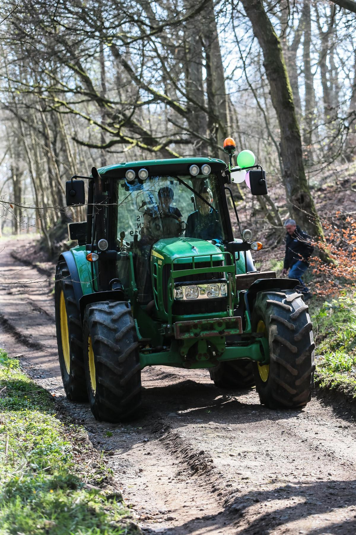 When Was Last Time You Thanked Tractor >> Good Turn Out For Tractor Club S Run In Memory Of Young Teesdale