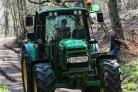 The Robert Thompson memorial tractor run was organised by members of the Hamsterley Vintage Tractor Club