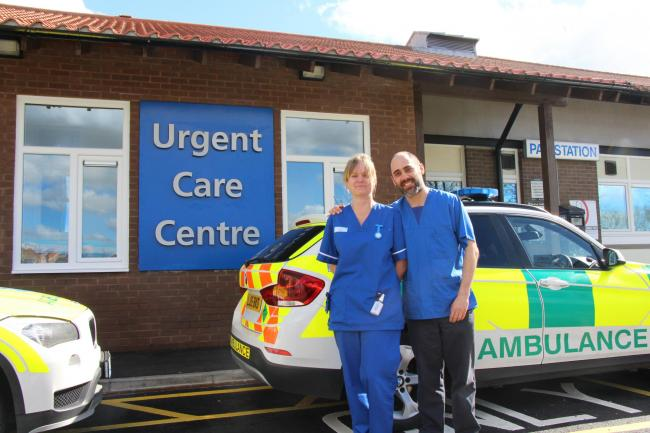 BEST: North Tees Urgent Care service is rated top in the country