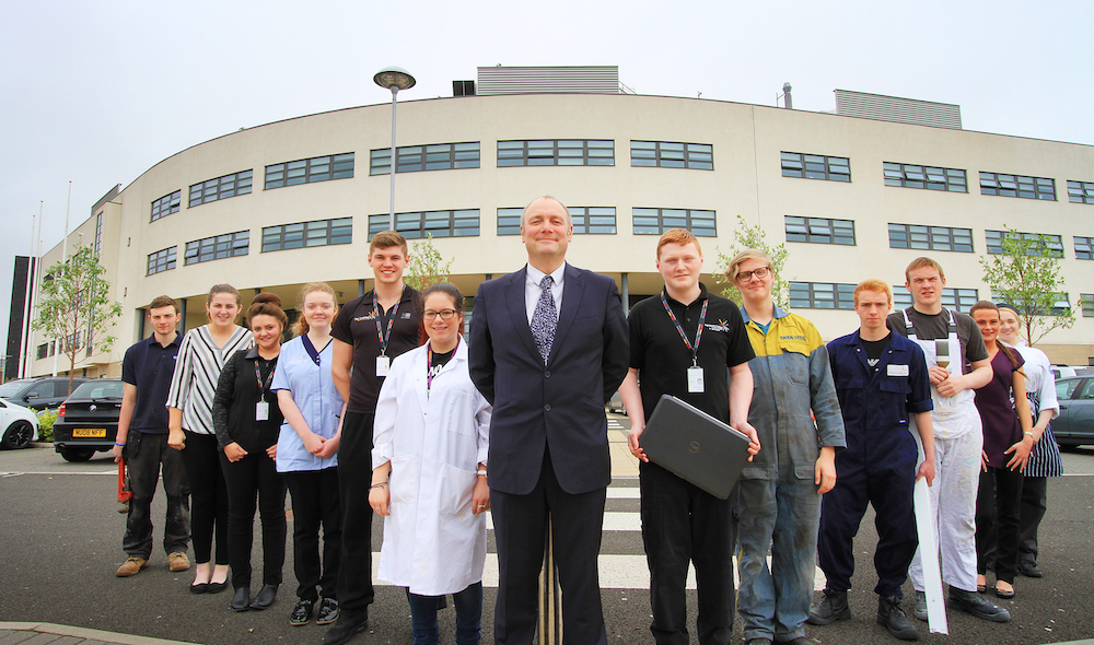 Hartlepool College tops Government tables for apprenticeships