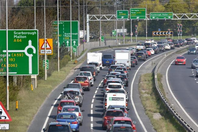 MISERY: Concern is growing over investment to relieve traffic on the A64 is in jeopardy