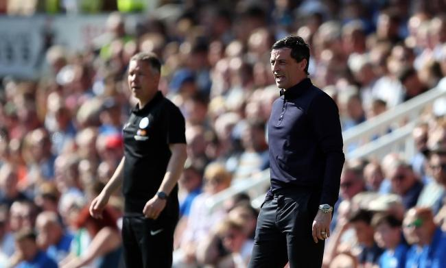Peterborough United manager Darren Ferguson and Sunderland manager Jack Ross
