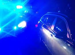 Police chase at night began after slow speed of car drew police attention