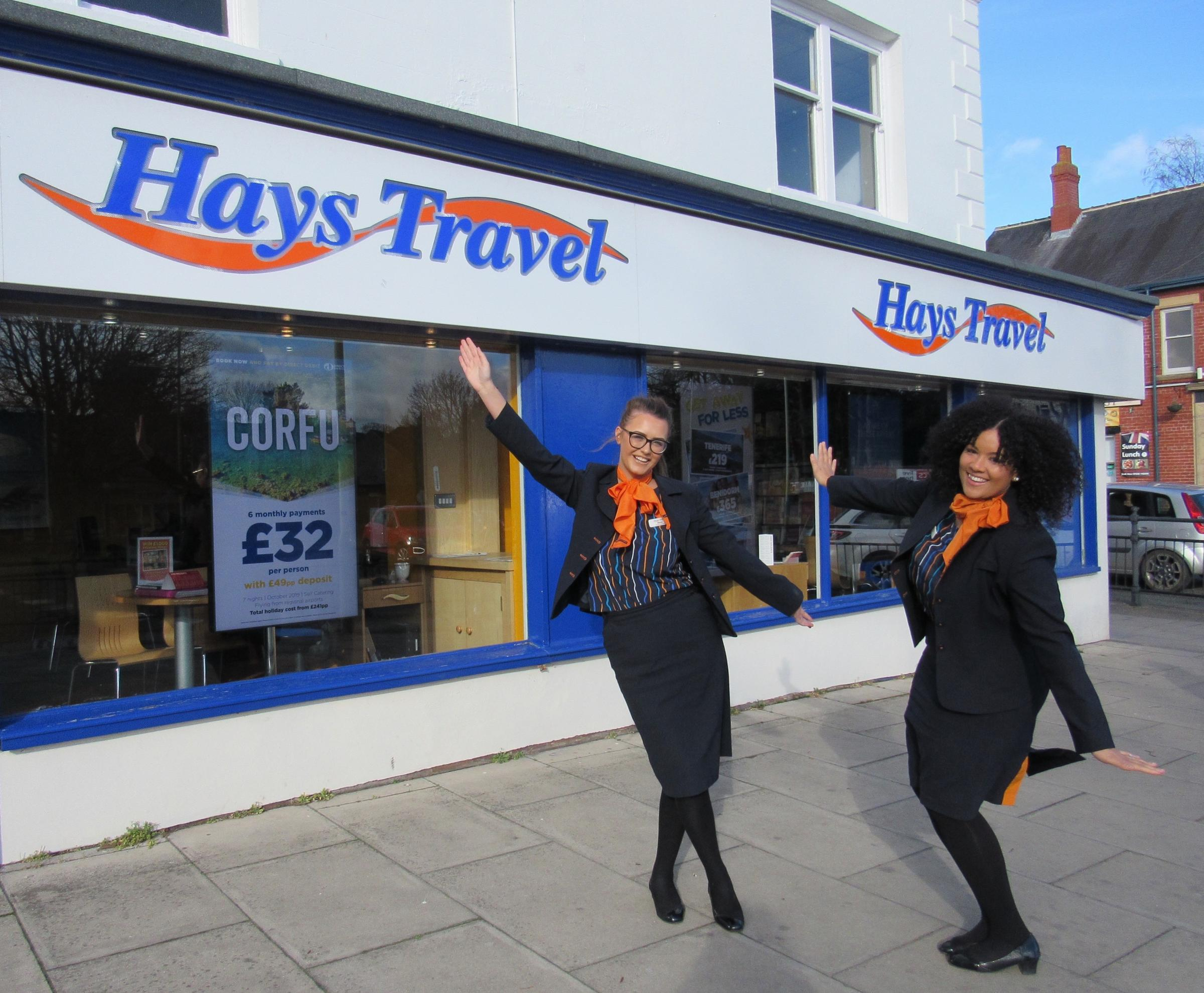Daring young Darlington travel agents Ebonie Bruce and Ashleigh Davison will be taking on a skydive to support Daisy Chain