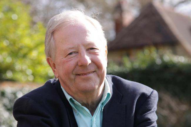 Expelled from school: humorist and actor Tim Brooke-Taylor  Picture: Hattie Miles for Clive Conway
