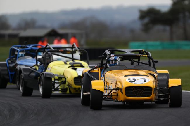 There will be plenty of Caterham action at Croft this weekend Picture: TONY TODD