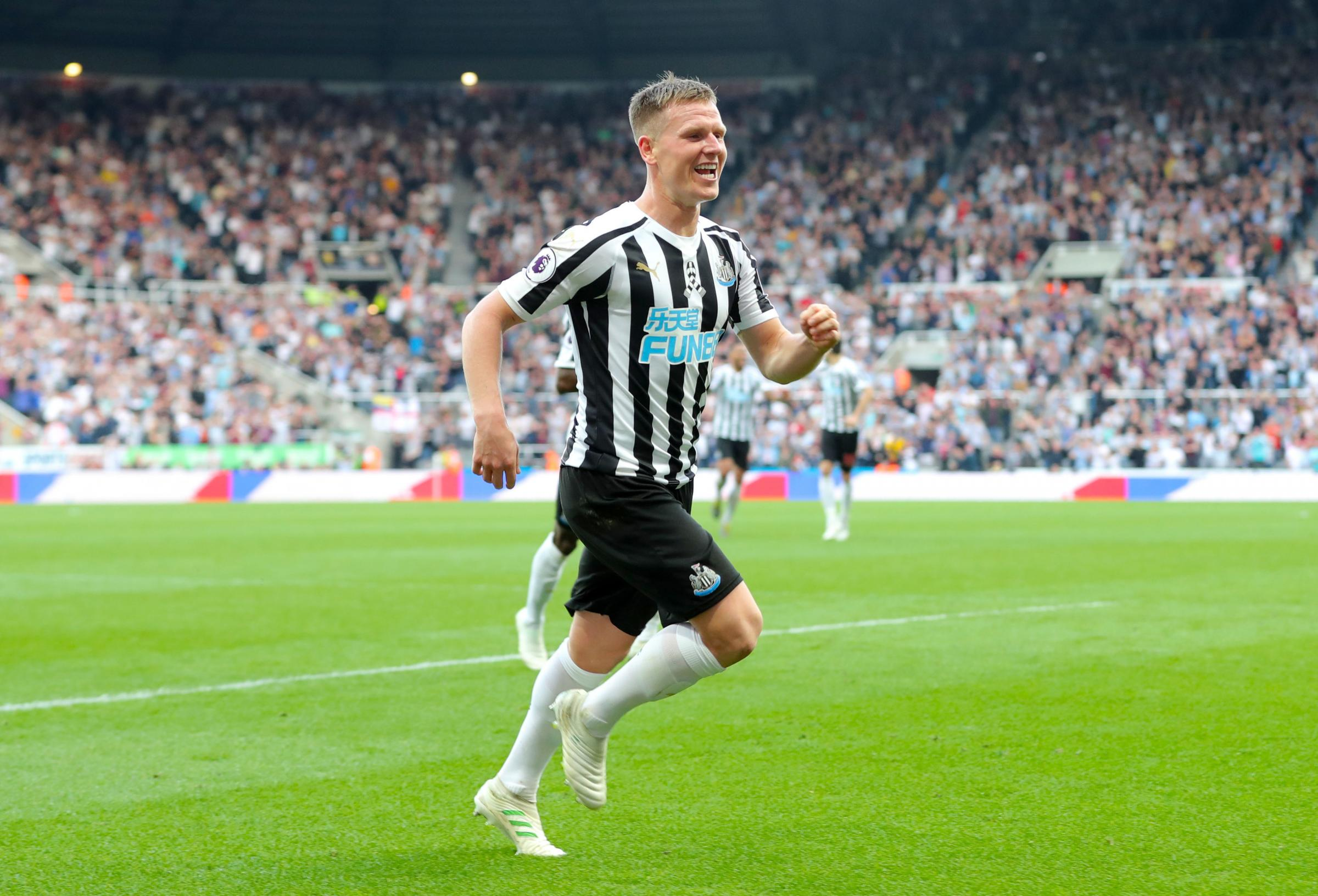 Newcastle United's Matt Ritchie during the Premier League match at St James' Park, Newcastle. PRESS ASSOCIATION Photo. Picture date: Saturday April 20, 2019. See PA story SOCCER Newcastle. Photo credit should read: Richard Sellers/PA Wire. RESTRIC