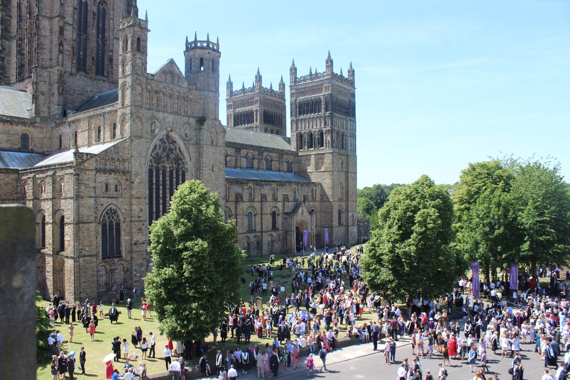 WORLD-CLASS: Graduation day at Durham University