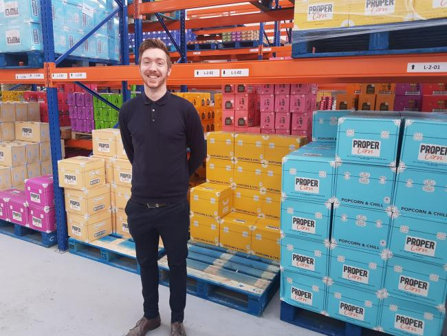 NEW FACE: County Durham-based healthy snacking wholesaler, Epicurium, has appointed its first Trading Manager, James Christie