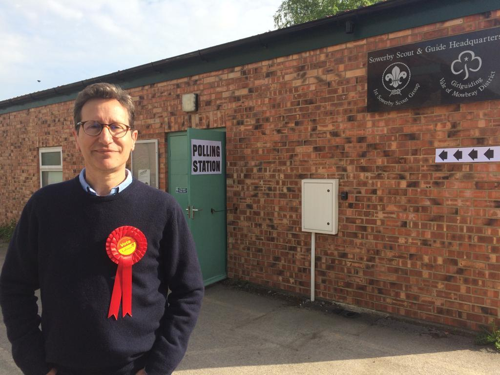 Sowerby ward Labour candidate Jerome Wright