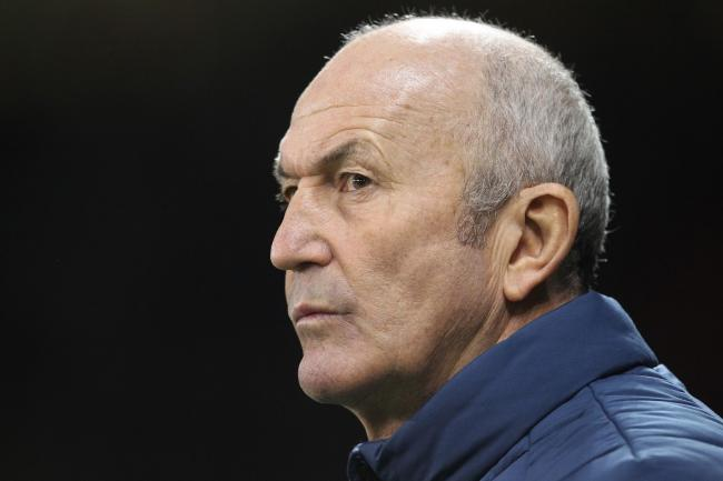 SHEFFIELD, UK 13TH FEBRUARY  Tony Pulis the Middlesbrough manager during the Sky Bet Championship match between Sheffield United and Middlesbrough at Bramall Lane, Sheffield on Wednesday 13th February 2019. (Credit: Mark Fletcher | MI News)
