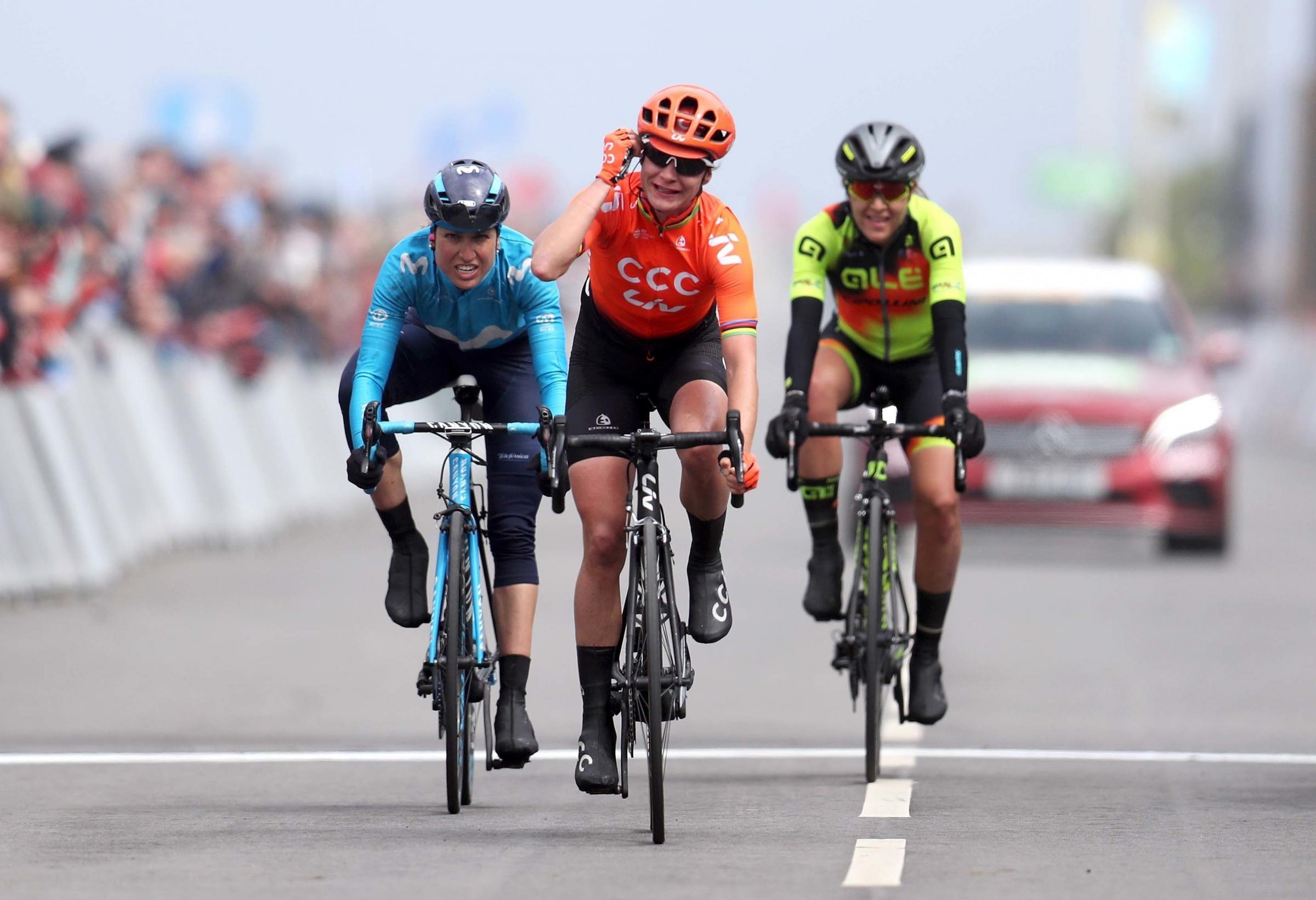 Vos adds Women's Tour de Yorkshire to long list of accolades