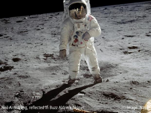 MOON MAN: Buzz Aldrin