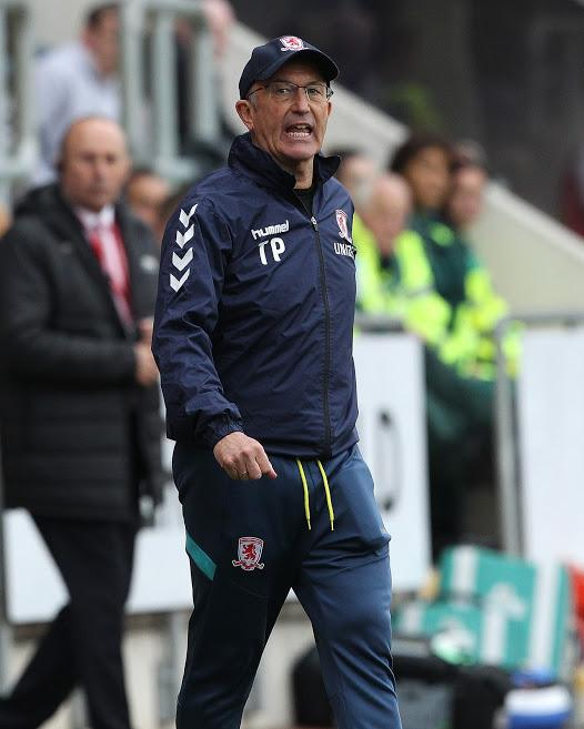Tony Pulis watched his Middlesbrough side miss out on the play-offs despite a 2-1 win at Rotherham (Picture: Mark Fletcher/MI News)