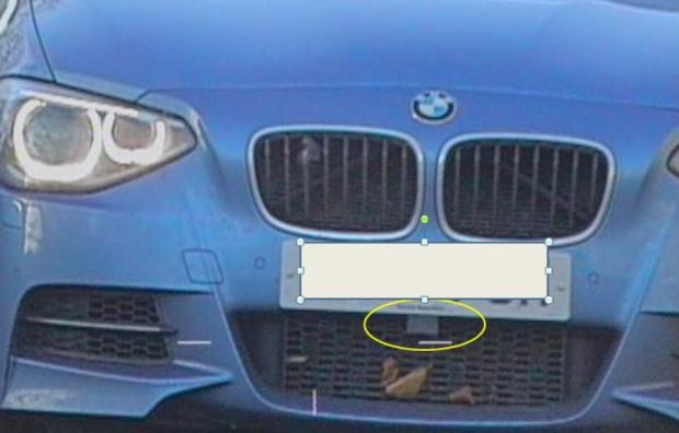 The Northern Echo: The BMW was found to be fitter with a laser jammer device to fool speed cameras