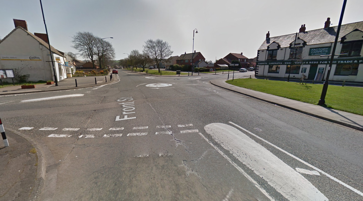 A theft took place in Sherburn Village Picture: GOOGLE