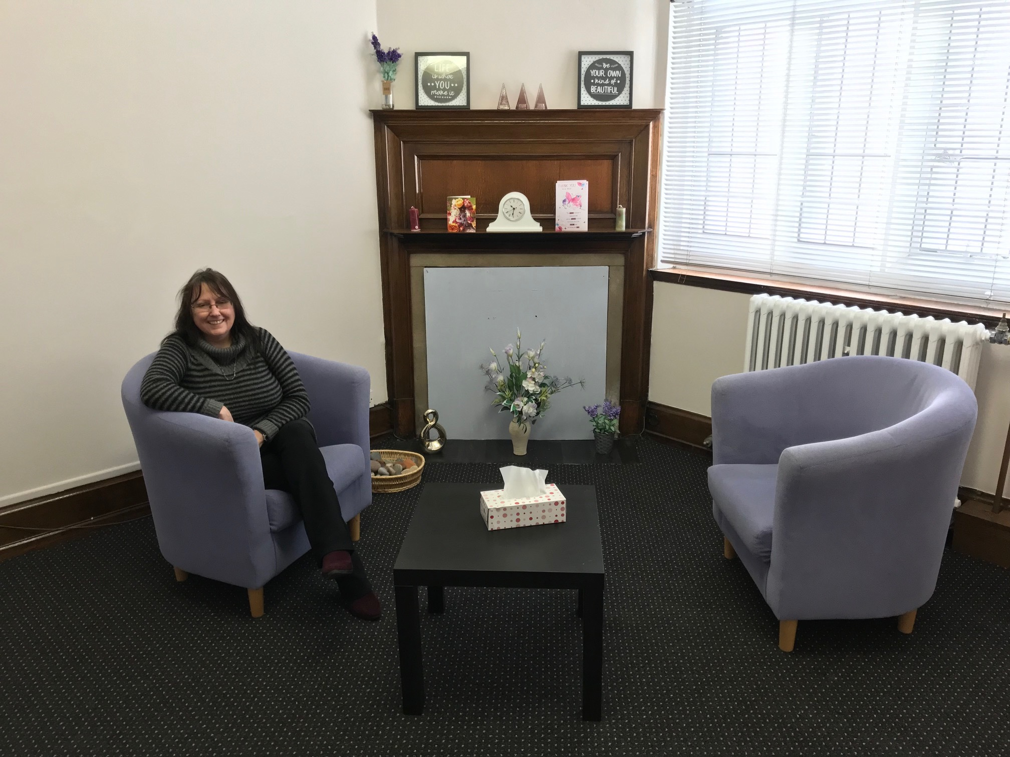 Cllr Luan Deakin, Shildon Town Mayor, runs a counselling charity in Shildon called The Sanctuary which is searching for funding.	           Picture:STACEY-LEE CHRISTON