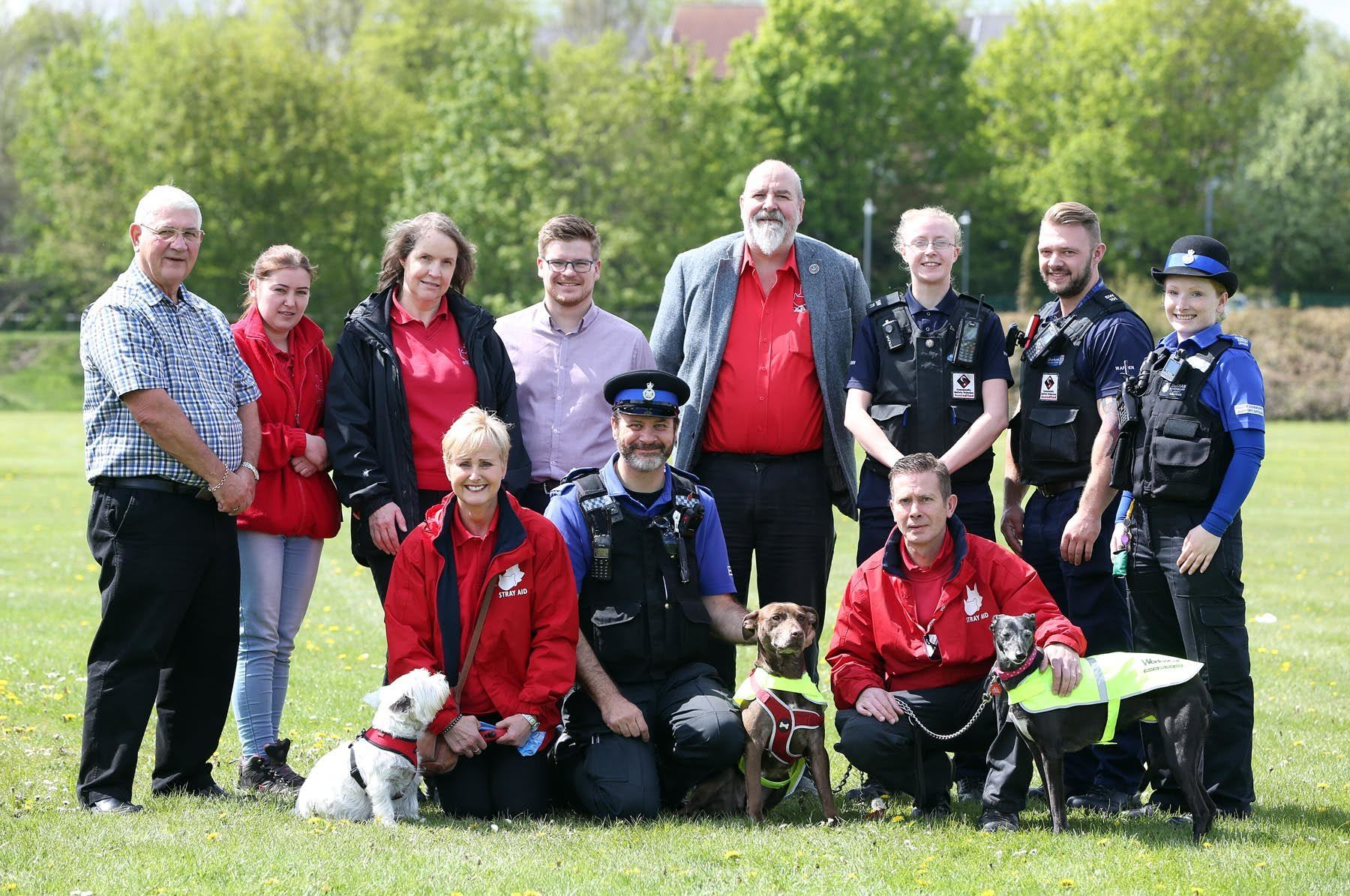Stray Aid launches its 500 mile challenge in Durham