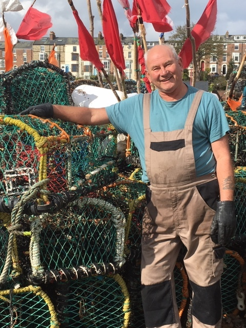 Whitby trawler fisherman Mike Locker will help celebrate the town's proud fishing tradition