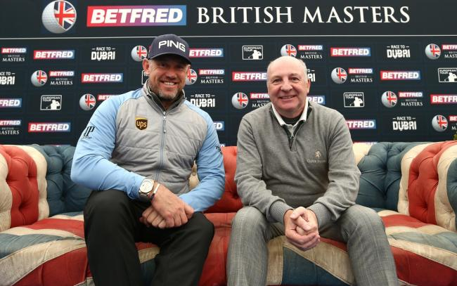 Lee Westwood and Graham Wylie are delighted after the announcement the British Masters is heading back to the North-East