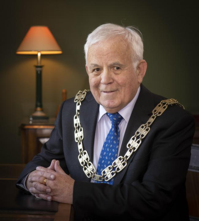 North Yorkshire County Council's chairman Cllr Jim Clark