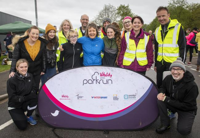 The running and walking group aims to improve people's mental health