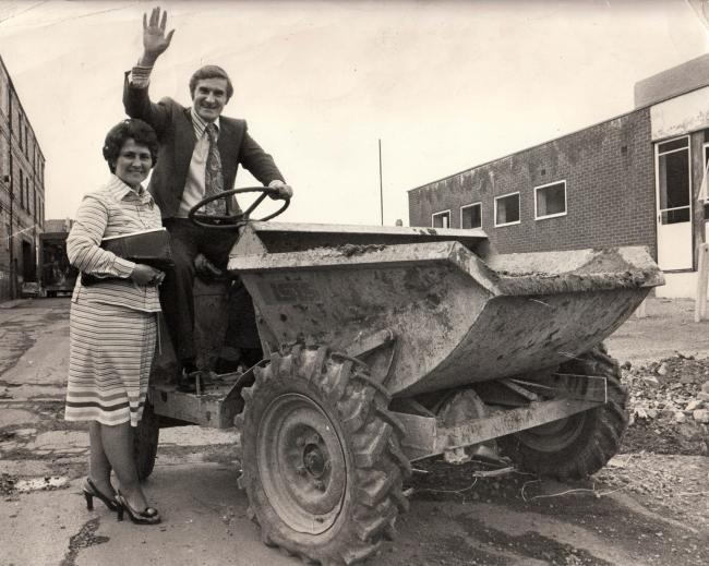 Derek Foster, and his wife Anne, during his first election campaign in 1979