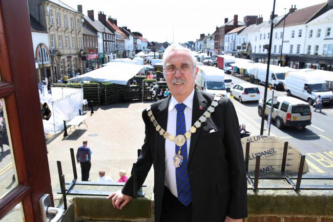 John Forrest who has been re-elected as Mayor of Northallerton for the sixth time. Picture: Richard Doughty Photography